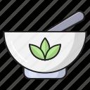 beauty, pestle, bowl, mortar, spa