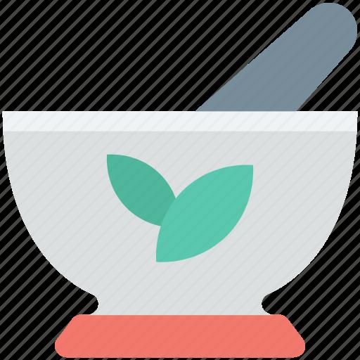 bowl, bowl grinder, medicine bowl, mortar, pestle icon