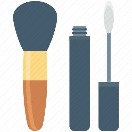 beauty, cosmetics, lip gloss, makeup, makeup brush icon