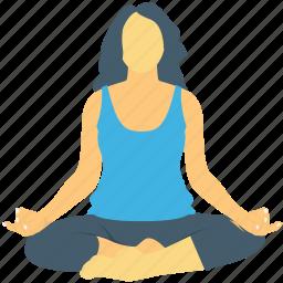 acrobatic, exercising, workout, yoga, yoga posture icon
