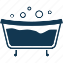 bath, bath therapy, bathtub, immersion bath, immersion therapy icon