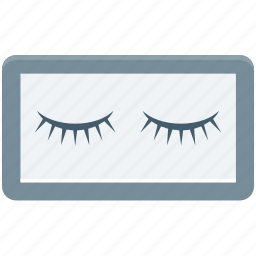 beauty, eye, eyelashes, lashes, lashes extension icon