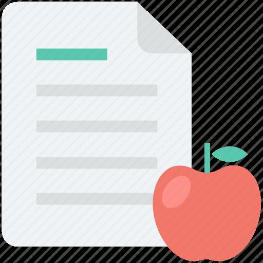 apple, diet chart, diet plan, fruit, healthy diet icon