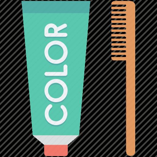 hair color, hair dye, hair salon, hair tinting, hair treatment icon
