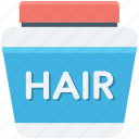 hair conditioner, hair cream, hair gel, hair salon, hair treatment icon