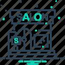 glamour, barbershop, beauty salon, beauty, salon icon