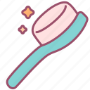 beauty, brush, care, comb, hair, product icon
