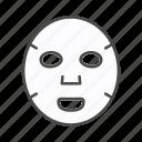 beauty, clay mask, face, facial mask, mask, moisturiser, peel off