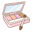 cheek palettes, cosmetic, cosmetics, eye, eye palettes, eye shadows, makeup icon