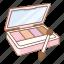 cheek palettes, cosmetic, cosmetics, eye, eye palettes, eye shadows, makeup icon