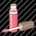 beauty, cosmetic, facial, gloss, lips, lipstick, makeup