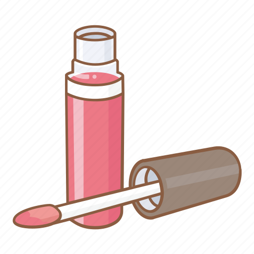beauty, cosmetic, facial, gloss, lips, lipstick, makeup icon