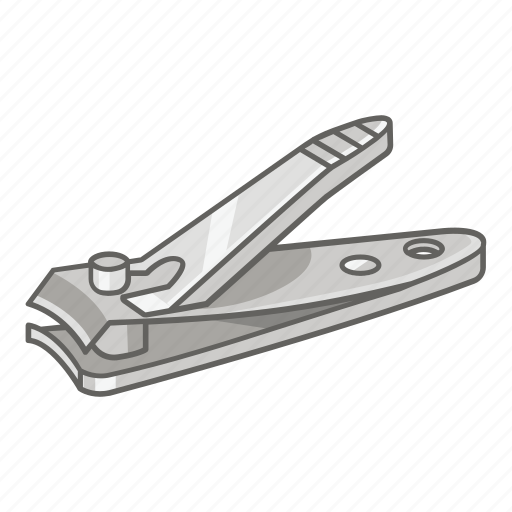 beauty, clippers, fingernail, hygiene, nail, nail clippers icon