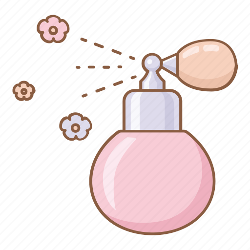 aroma, beauty, cosmetic, flowers, perfume, redolence, scent icon