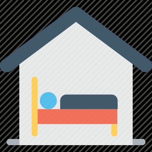 bedroom, home, house interior, sleep, sleeping room icon