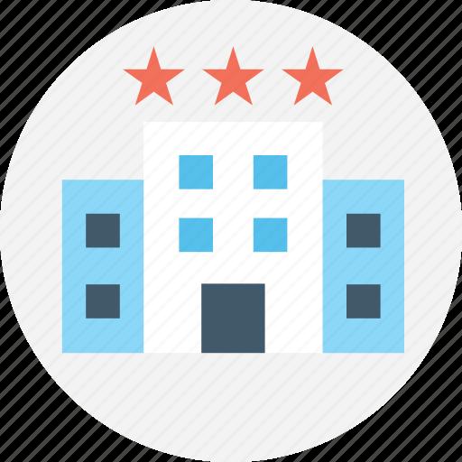 building, building exterior, hotel, luxury hotel, three star icon