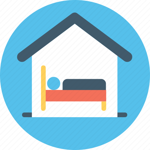 bedroom, home, house interior, sleep, sleeping room icon