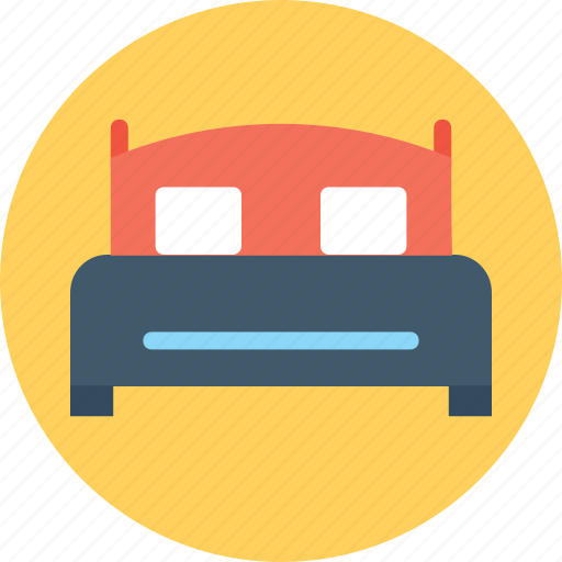 bed, double bed, furniture, king bed, queen bed icon