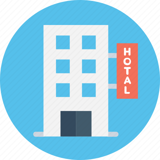 building, building exterior, building front, hotel, inn icon