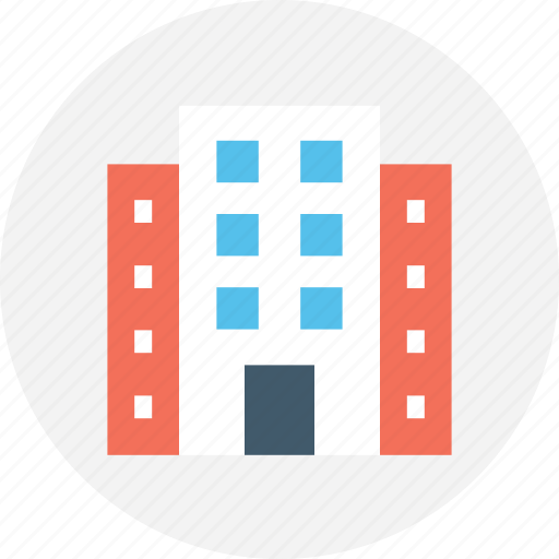 Building, building exterior, building front, hotel, inn icon - Download on Iconfinder