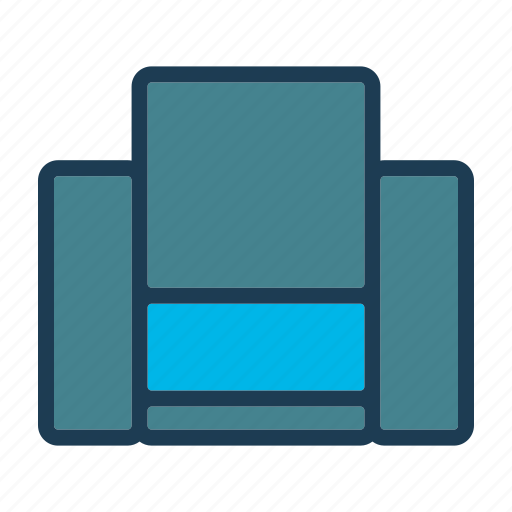 bed, furniture, home, hotel, night, room, sofa icon