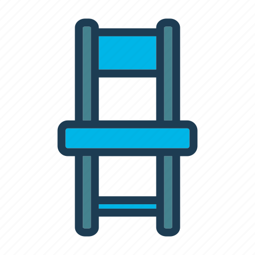 bed, chair, furniture, home, hotel, night, room icon