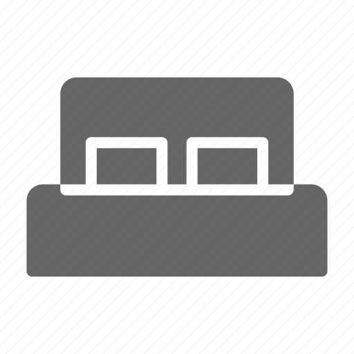bed, bedroom, furniture, home, hotel, night, room icon