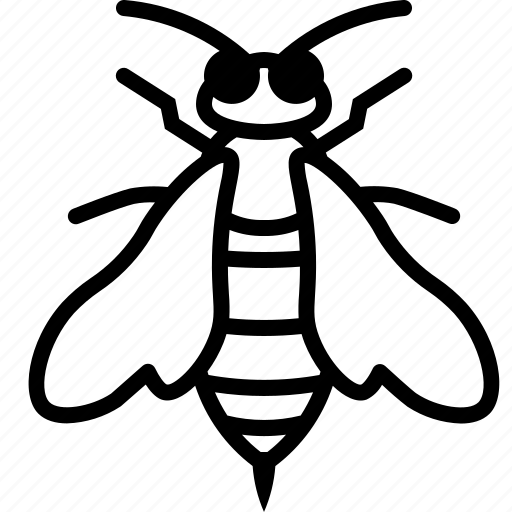 bee, beekeeping, garden, insect, sting, wasp, yumminky icon