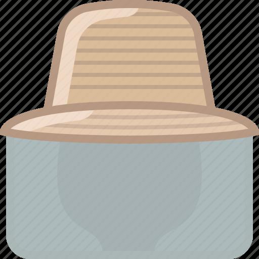 beekeeper, beekeeping, garden, hat, head, protection, yumminky icon