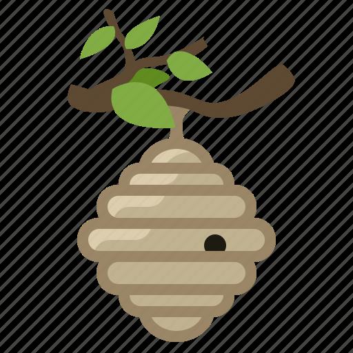 bee, beehive, beekeeping, garden, hive, wild bees, yumminky icon