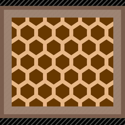 beehive, beekeeping, garden, hive, honey, honeycomb, yumminky icon