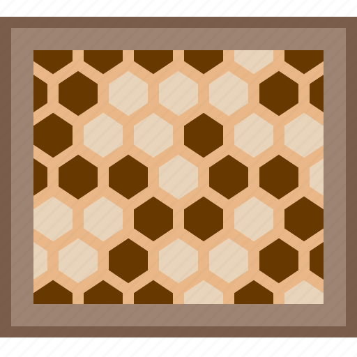 beehive, beekeeping, garden, honey, honeycomb, larvae, yumminky icon