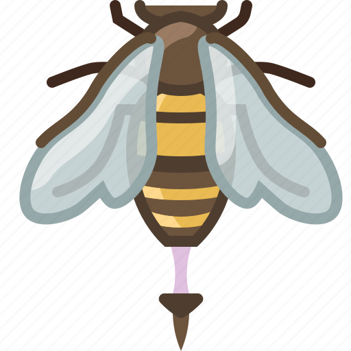 bee, beekeeping, garden, pang, sting, worker, yumminky icon