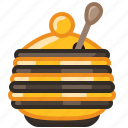 beekeeping, container, garden, health, honey, sweet, yumminky icon
