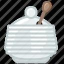 beekeeping, container, garden, glass, honey, sweet, yumminky icon