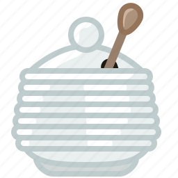 beekeeping, container, garden, glass, honey, sweet, yumminky icon