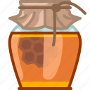 beekeeping, garden, glass, health, honey, honeycomb, yumminky icon