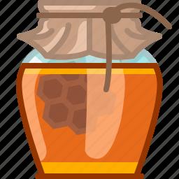 beekeeping, garden, glass, health, honey, honeycomb, yumminky icon