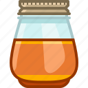 beekeeping, garden, glass, honey, natural, sweet, yumminky icon
