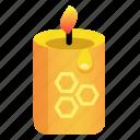 bee, beekeeping, candle, ecology, honey, light, wax