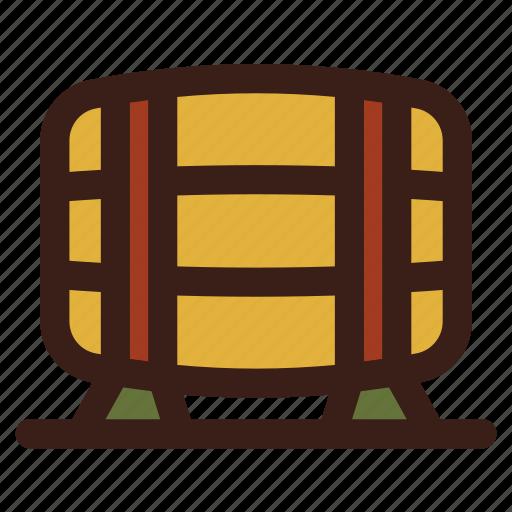 barrel, beer, brewery, brewing, cask icon
