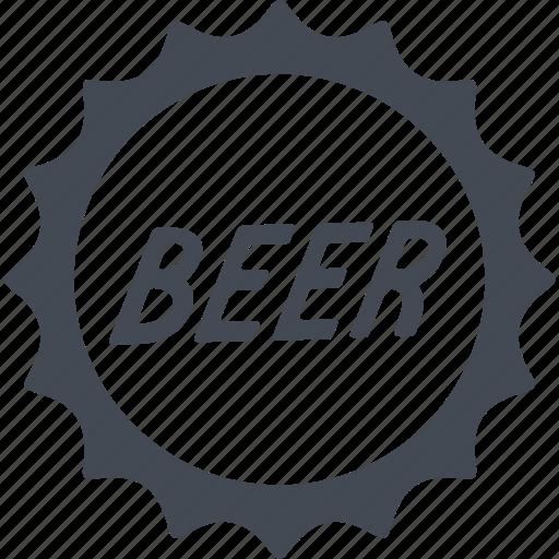 Beer, alcohol, bottle, cap, drink icon - Download on Iconfinder