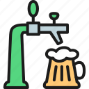 bar, beer, brewery, malt, pint, pub, tap icon