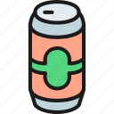 alcohol, bar, beer, brewery, can, malt, pub icon