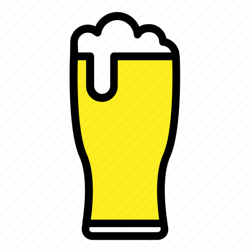 alcohol, beer, beer glass, drinks, glass, mug, pub icon