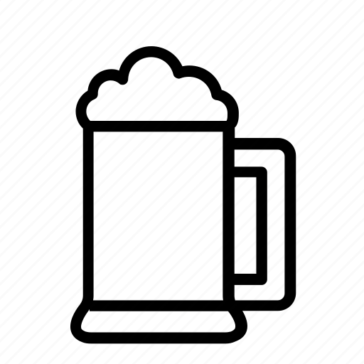alcohol, bar, beer mug, drinks, mug icon
