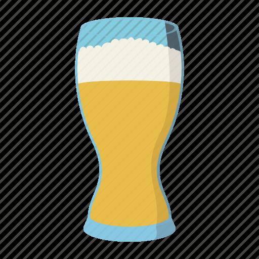 alcohol, beer, cartoon, drink, froth, glass, mug icon