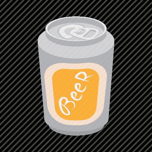 aluminum, beverage, can, cartoon, cold, liquid, metal icon