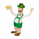 cartoon, celebration, fun, holiday, irish, leprechaun, party icon