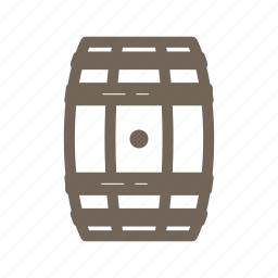 alcohol, barrel, beer, beverage, cask, whiskey, wine icon